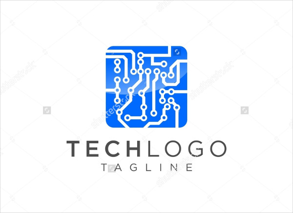 Computer and Data Related Business Logo