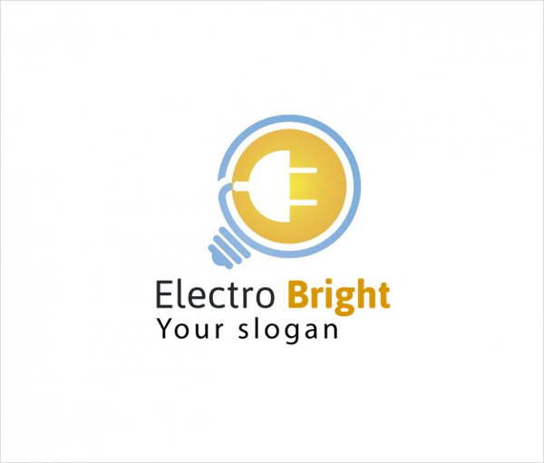 Free Electric Company Logo Template