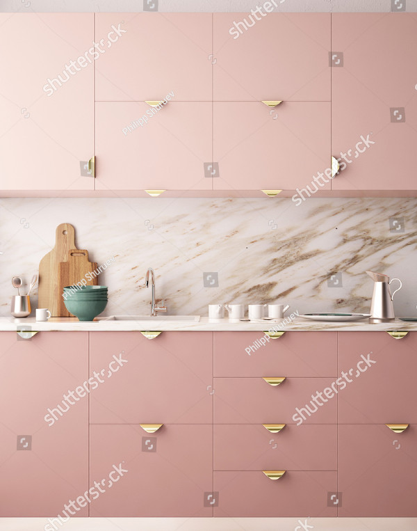 Interior Kitchen Mock-up