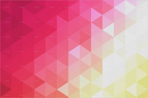 Low Poly Gradient Background