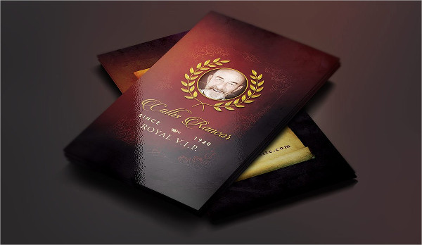 Luxury Royal Business Card