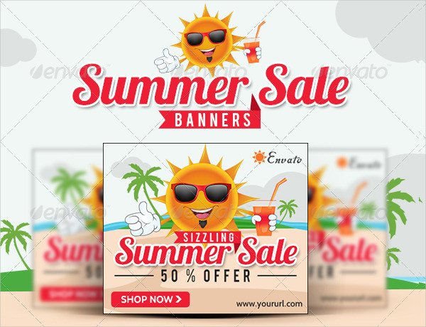 Summer Sale Marketing Banners