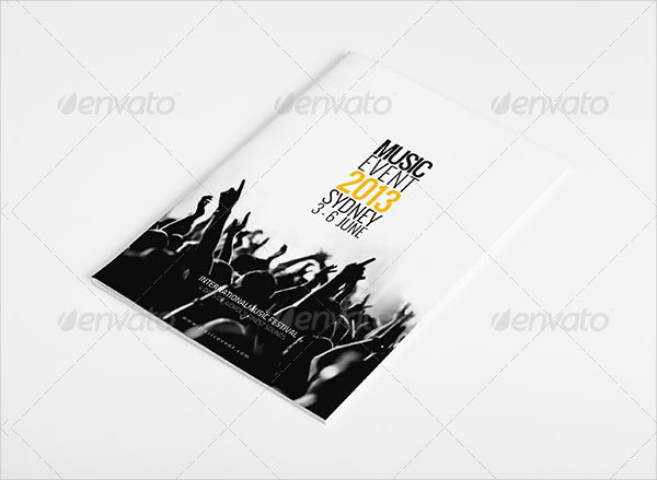 Professional Music Events Brochure