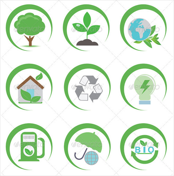 Best Eco Vector Icon Collection
