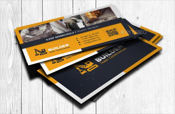 Best Construction Business Card Templates