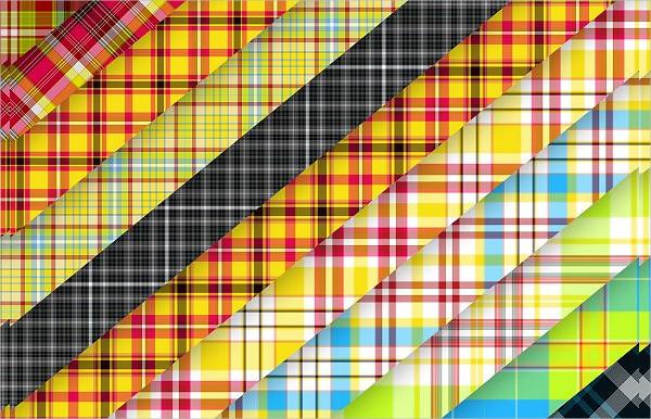 100 Retro Tartan & Plaid Patterns