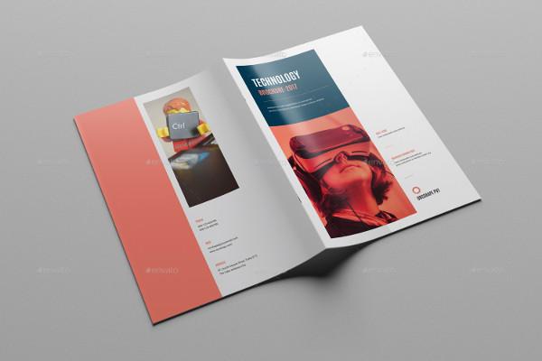 Business Bi-Fold Brochure INDD