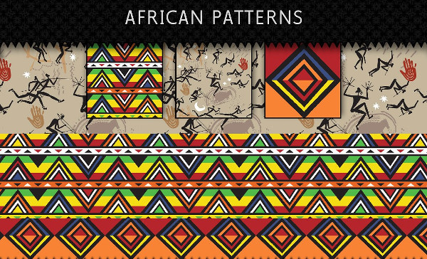 3 Bright and Colorful Patterns
