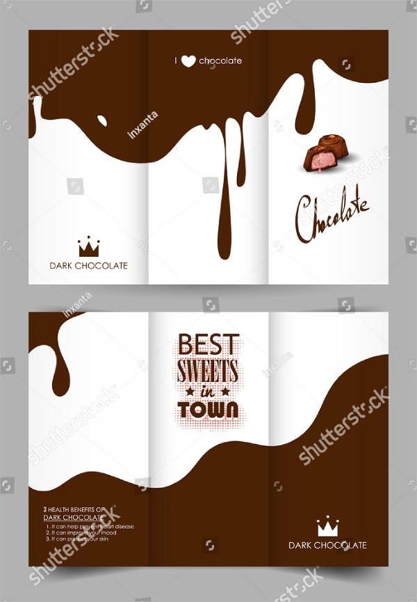 Beautiful Chocolate Brochure Design