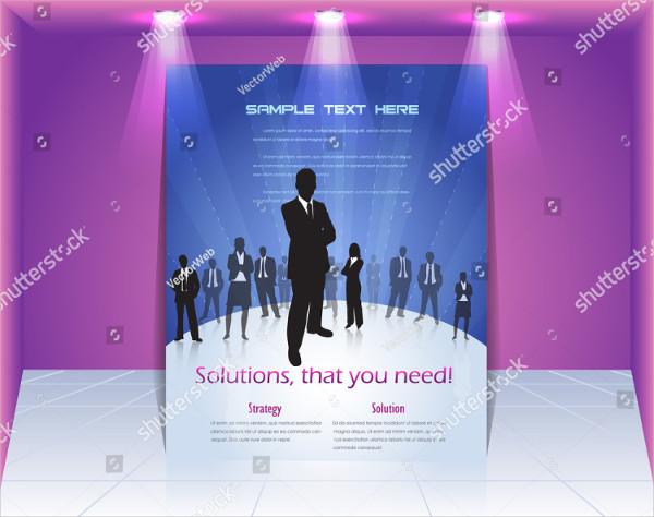 Business 3D Flyer Template