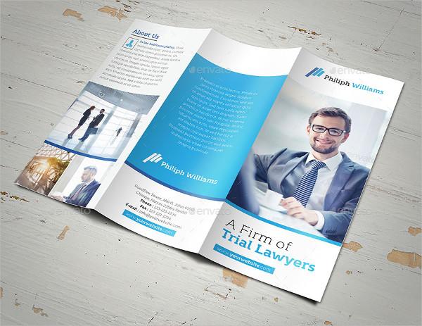 Best Law Firm Brochure Template