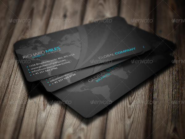 Global Group Business Card Template