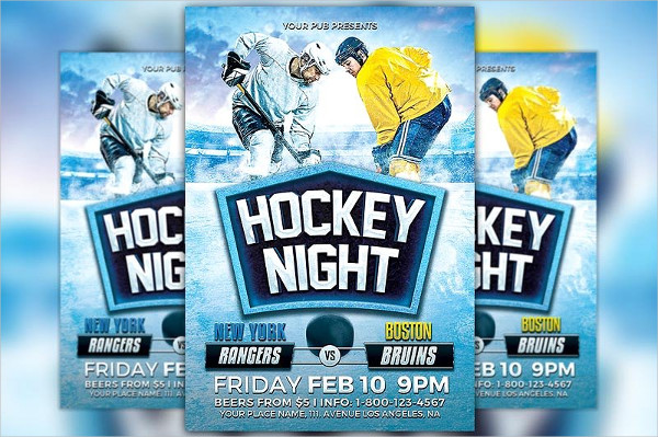 Pro Hockey Life Flyer Design