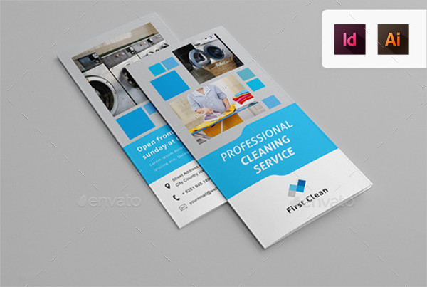 Cleaning & Laundry Service Tri-Fold Brochure