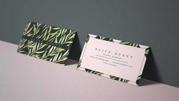 Nature Business Card