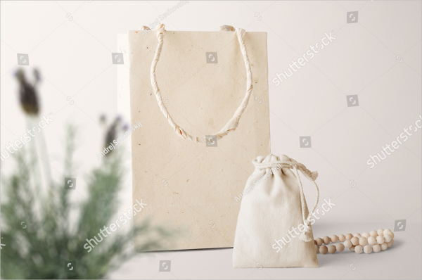 Paper Bag & Pouch Mock-Up