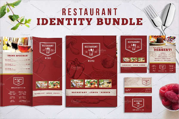 Popular Restaurant Identity Bundle