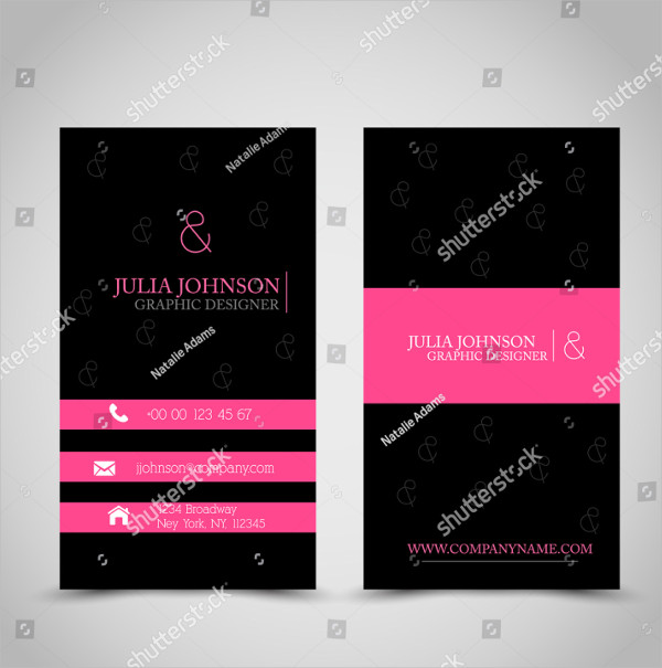 Printable Global Business Card Template
