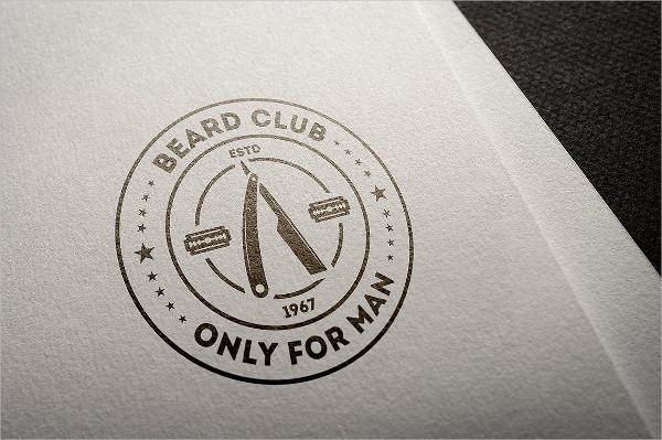 Set of Barber Shop Logos Bundle