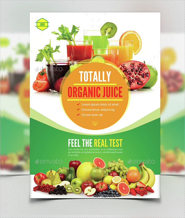 Print Ready Juice Menu Templates