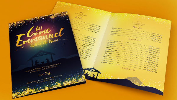 Christmas Brochure Templates