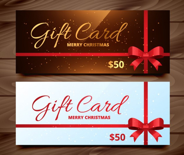 Free Christmas Gift Cards Pack Download