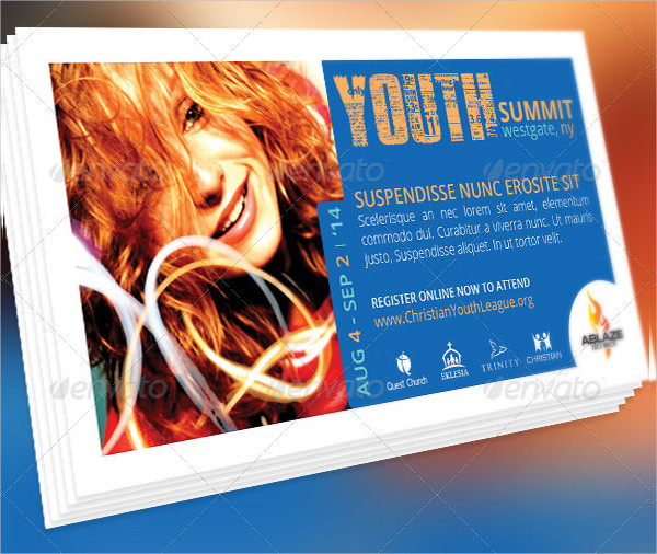 Mini Youth Summit Flyer Design