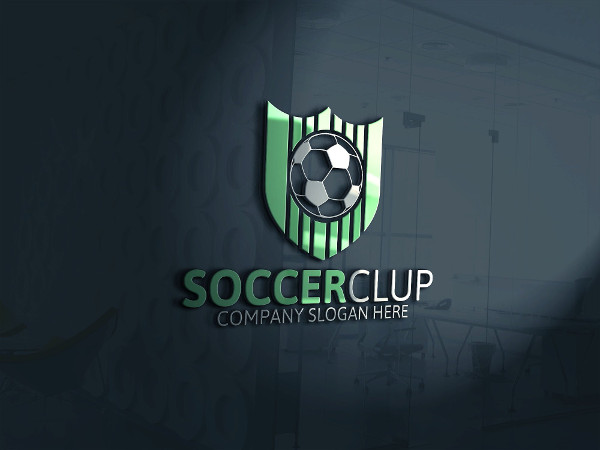 Professional Soccer Store Logo Template
