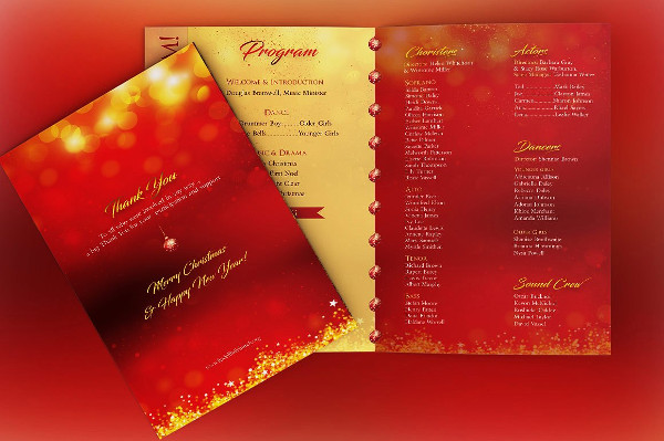 Rejoice Christmas Cantata Program Brochure