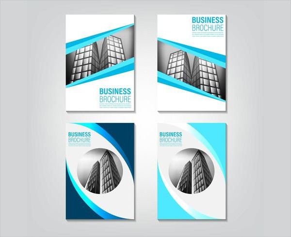 Set of Real Estate Brochure Templates Free Download