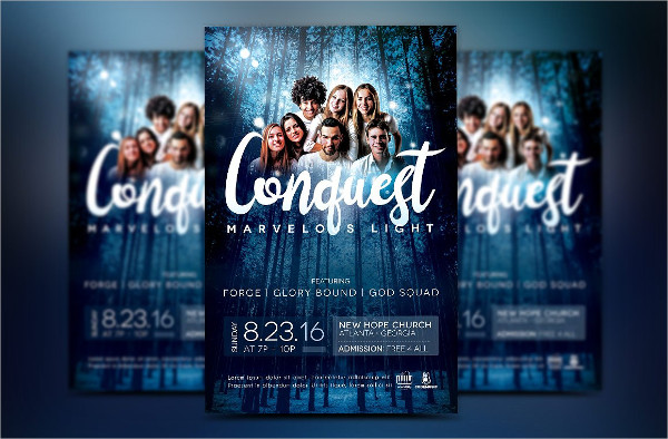 Youth Concert Flyer Photoshop