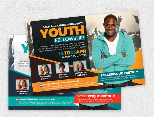 Youth Fellowship Flyers Template