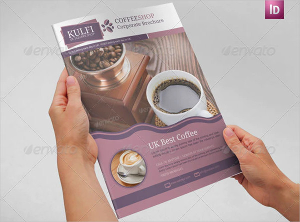 Coffee Brochure Template A4