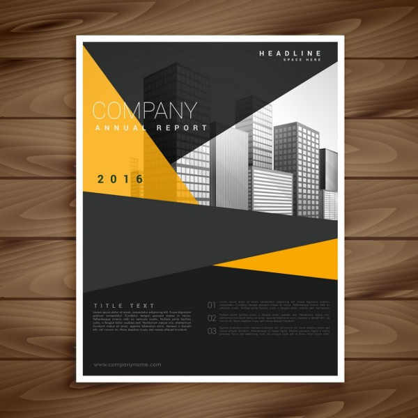 Modern Brochure Free Download