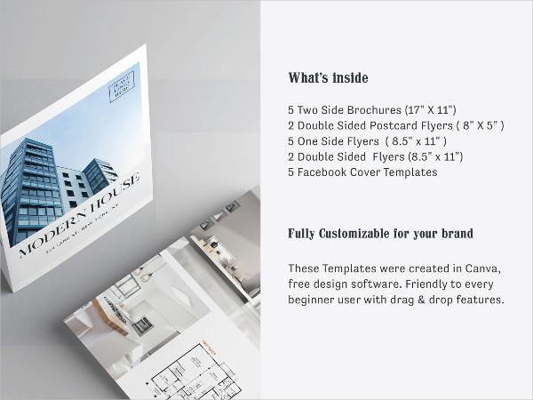 Real Estate Flyers & Brochures