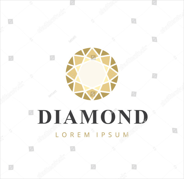 Simple Diamond Concept Logo Template