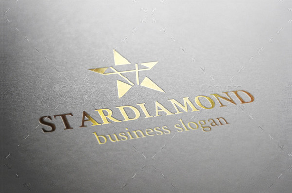 Star Diamond Logo Template