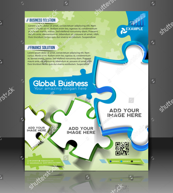 Vector Business Consulting Flyer Template