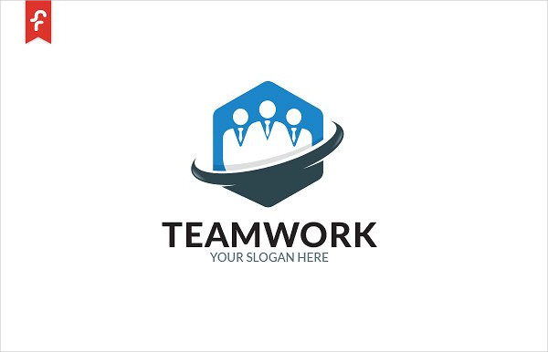 Consulting Team Work Logo Template