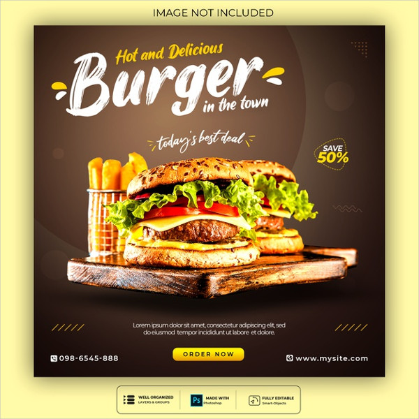 Free Burger Theme Template Download