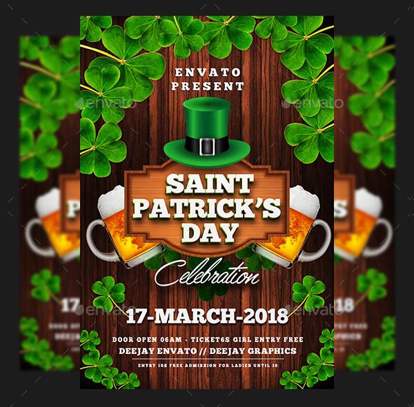 Best St Patricks Flyer Template