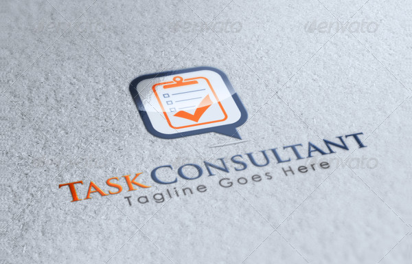 Best Task Consultancy Logo Template