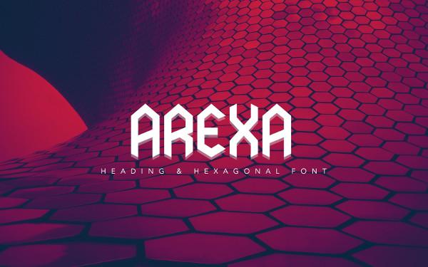 Branding Arexa Font
