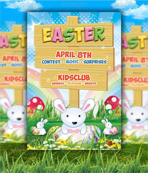 Easter Kids Spring Flyer Templates