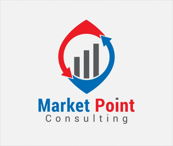 Free Download Market Consulting Logo Template