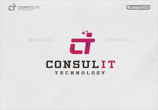 IT Consult Logo Template