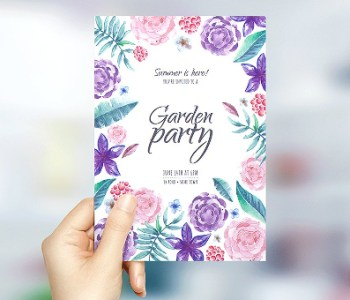 Invitation Flyer Templates