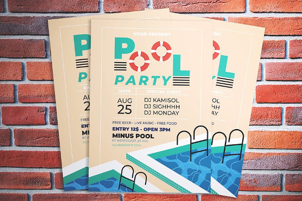 Best PSD Flyer for Parties and Festivals