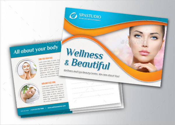 4 in 1 Wellness and Spa Postcards Bundle