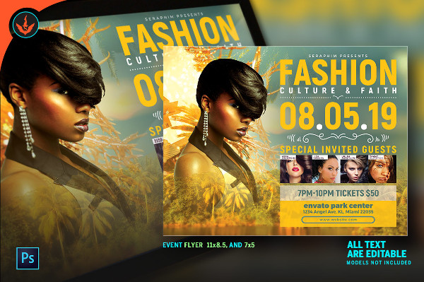 Tropical Fashion Flyer Template
